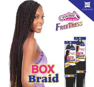 LARGE BOX BRAIDS - FREETRESS SYNTHETIC BULK CROCHET BRAIDING HAIR EXTENSION