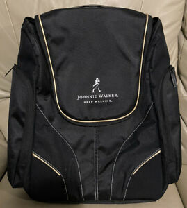 Laptop Rare Johnnie Walker Black Backpack Work Office Bag Travel