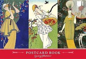 The Art & Fashion of George Barbier Postcard Book Galison Good
