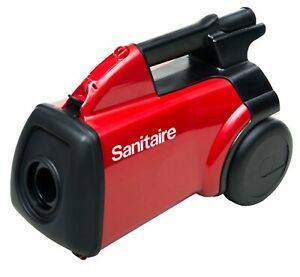 Sanitaire S3683D Heavy Duty Bagged Canister Vacuum W BONUS BAGS AND HEPA FILTER