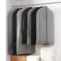 Big Suit Coat Dress Cover Garment Bag Storage Protector Clothes Hanging Carrier