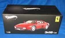 Hot Wheels 348 TS Ferrari Elite Red 1:18 X5480 NEW