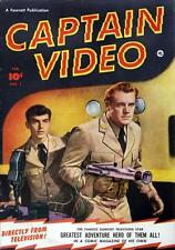 Captain Video #1 Photocopy Comic Book