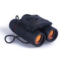 Outdoor Travel 30 x 60 Zoom Folding Day Night Vision Binoculars Telescope + Bags