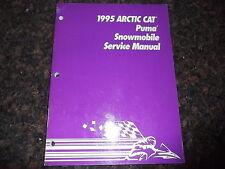 1995 ARCTIC CAT PUMA SNOWMOBILE SLED SERVICE SHOP REPAIR MANUAL