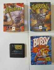 Sega Genesis Accolade Games Bundle: Turrican, Zero Tolerance, and more!