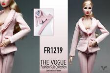FR1219 The Vogue Pink  Formal Office Suit Set for Barbie Fashion Royalty FR2 Po
