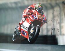 Nicky Hayden signed 10x8 Image B photo UACC Registered Dealer AFTAL RACC Trusted