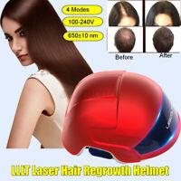 LED Infrared Laser Hair Growth Helmet Cap Anti Hair Loss Hair Regrowth Treatment