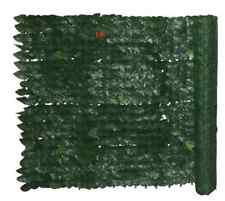 SIEPE SINTETICA ARTIFICIALE SEMPREVERDE FOGLIA EDERA 1X3,FINTA COPERTUR 421468