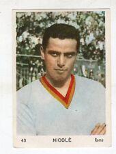 [KHY] FIGURINA OMNIA SPORT ANNO 1964/65 CALCIO NUMERO 43 NICOLE' ROMA