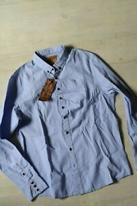 Mens Shirt Pearly King ,Size XL, Super Quality, RRP 90