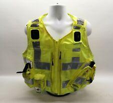 More details for ex police hi vis tactical utility vest yaffy gd 2 emergency fancy dress safety