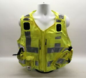 Ex Police Hi Vis Tactical Utility Vest Yaffy Emergency Fancy Dress Safety Patrol
