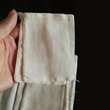 1000 PCS 3x4in Cotton Muslin Drawstring Reusable Bags Pack Bath Soap Herbs Tea