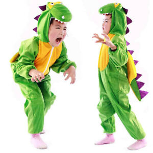 Baby Kid Dinosaur Costume Halloween Party Fancy Dress Up Outfit Cosplay Dress ZH