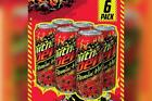 MOUNTAIN Mtn DEW Flamin' Flaming HOT Limited Edition 6 Pack IN HAND SHIP NOW