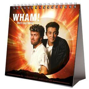 Wham! 2022 Desktop Calendar NEW Desk 12 Months George Michael