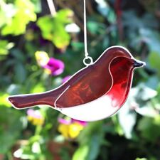 Robin Red Breast  Bird Suncatcher - Brand New