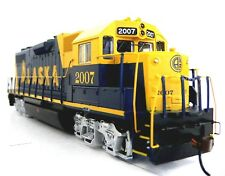 HO Scale Model Railroad Trains Layout Engine Alaska GP-38 DCC & Sound Equipped