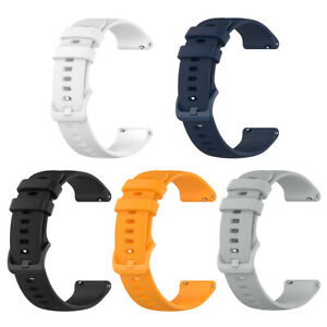 Quick Release Silicone Watch Band Strap 22mm Wide for Garmin Forerunner 745 UK