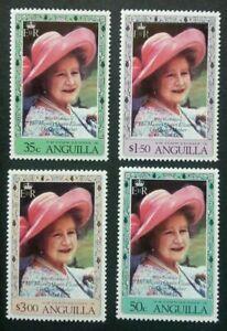 [SJ] Anguilla 80th Birthday Of H.M Queen Elizabeth II 1980 Royal (stamp) MNH