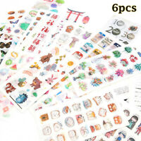 Japanese-Style Stationery Label Cartoon Adhesive Expression Scrapbook Stickers