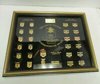 Limited Edition 1988 Olympic Winter Games Bud Anheuser-Busch 26 Pin Set hd1916