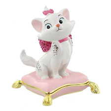 Disney Aristocats Marie Die Cast Trinket Box Figurine Decorative Cartoon Figure
