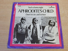"Aphrodite's Child/Don't Try To Catch A River/1971 Mercury 7"" Single/Dutch"