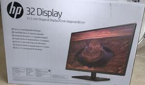 "HP Écran Full HD 32"" 2FW77AA"