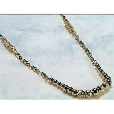 """Goldtone """"Nice Dinner"""" Magnetic Therapy Necklace"""