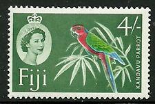 Album Treasures Fiji Scott # 173  4sh Elizabeth Kandavu Parot Mint NH