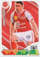 JULIEN TOUDIC STADE REIMS TRADING CARDS ADRENALYN PANINI FOOT 2013