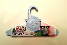 Baby Clothes Hangers Blue Animal Shower Gift Vintage Toddler Nursery Closet Kids