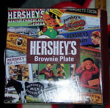 HERSHEYS CHOCOLATE BEST BROWNIES CERAMIC PLATE WITH RECIPE  L@@K