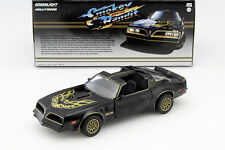 Pontiac Trans Am Smokey and the Bandit I 1977 schwarz / gold 1:24 Greenlight