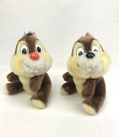 "Vintage Disneyland Walt Disney World Chip and Dale 8"" Plush Toy Chipmunk"