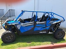 2018 Polaris RZR XP 4 1000/ Turbo  Lower half doors inserts 4 seat model BLUE