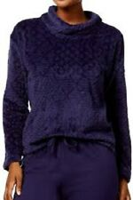 $165 Nautica Women'S Purple Textured Long Sleeve Knit Pajama Sleepwear Size Xs