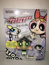 Cartoon Network Powerpuff Girls Blossom Keychain Backpack Clip MIP New 2000