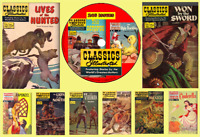 Classics Illustrated Comic Collection & Junior on PC DVD  Rom 246 issues (.CBR)