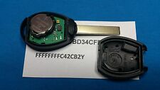 BMW MINI COOPER PRE 2004 REMOTE KEY FOB FULLY WORKING WITH BAR-CODES BLANK CHIP