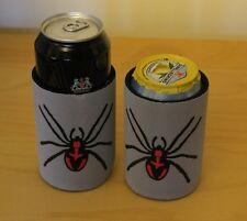 Neoprene Tin Can Holder Cooler Beverage Beer Spider Scary Koozie Coke