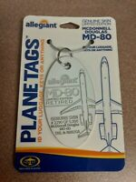 McDonnell Douglas MD-80 Aircraft Skin Plane Tag / Planetags - Free Shipping