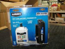 Hart 20V 2.0Ah battery/charger kit part# HPSK11
