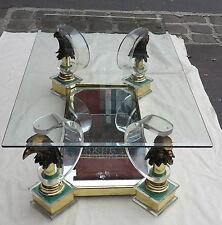 Table basse aux aigles   Maison Charles
