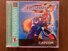Mega Man X4 Sony PlayStation Greatest Hits Complete Disk Resurfaced