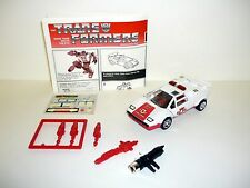 TRANSFORMERS RED ALERT G1 Action Figure Commemorative Series COMPLETE