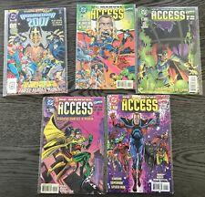 DC MARVEL ACCESS 1 2 3 4 + ARMAGEDDON 2001 NM BATMAN SUPERMAN THOR SPIDERMAN